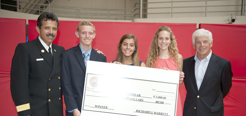 LAFD Scholarship Winners 2015