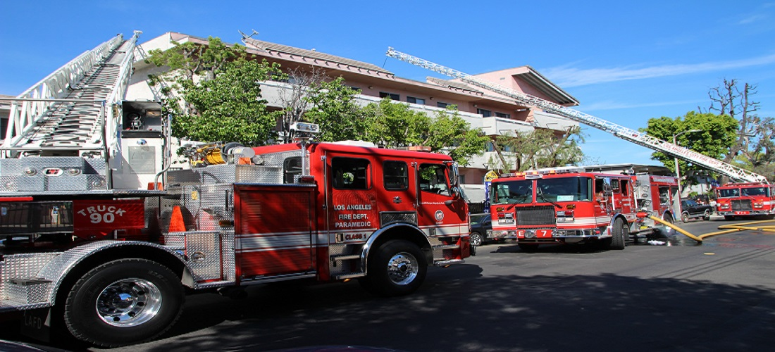 LAFD Responds to Major Emergency Structure Fire