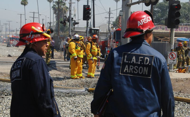 arson los angeles fire department