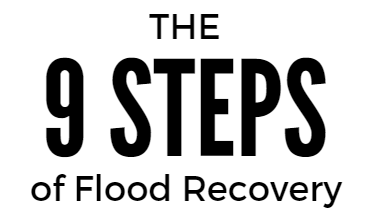 The 9 Steps of Flood Recovery