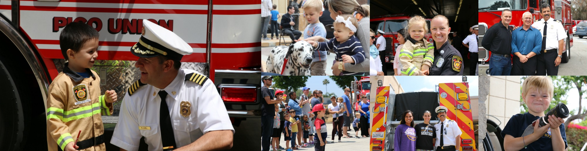 Fire Service Day offered kids of all ages the chance to see their fire department up close and personal.