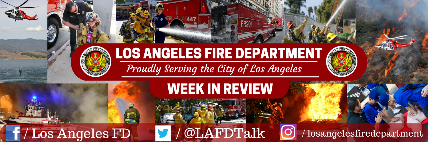 Print LAFD Week in Review