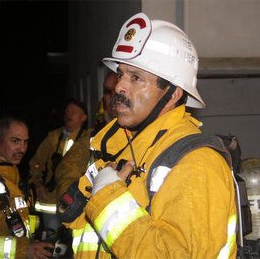 The LAFD Fire Chief