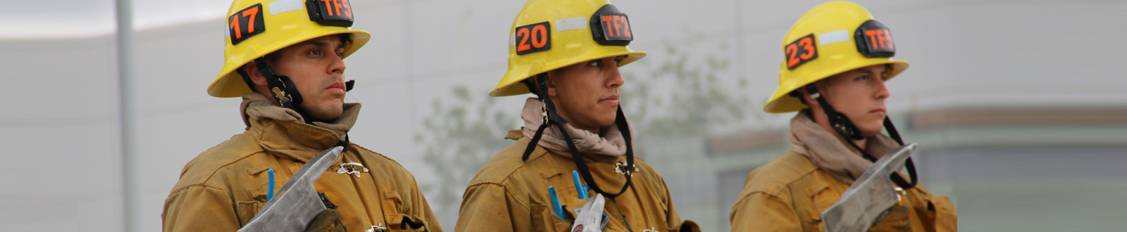 Three LAFD Firefighters