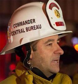 Central Bureau Commander Phillip T. Fligiel