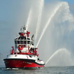 LAFD maritime boat