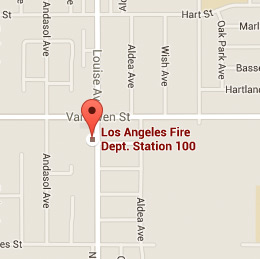 Map of Fire Station 100