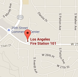 Map of Fire Station 101