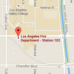 Map of Fire Station 102