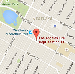 Map of Fire Station 11