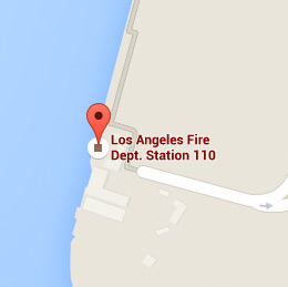 Map of Fire Station 110