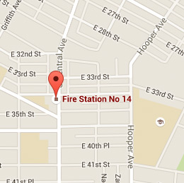Map of Fire Station 14