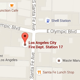 Map of Fire Station 17