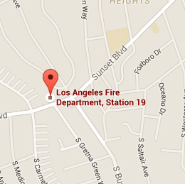 Map of Fire Station 19