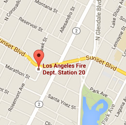 Map of Fire Station 20