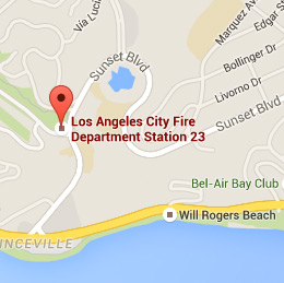 Map of Fire Station 23