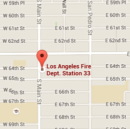 Map of Fire Station 33