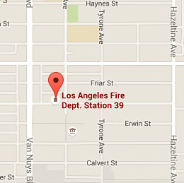 Map of Fire Station 39
