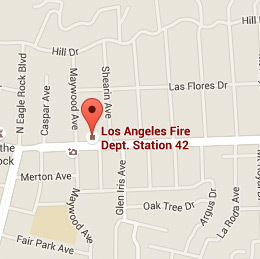 Map of Fire Station 42