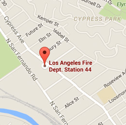 Map of Fire Station 44