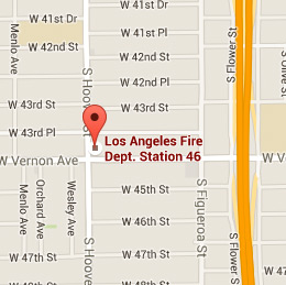 Map of Fire Station 46