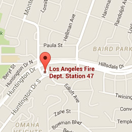 Map of Fire Station 47
