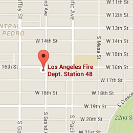 Map of Fire Station 48