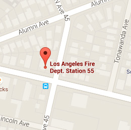 Map of Fire Station 55