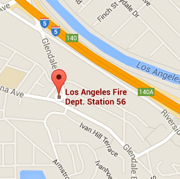 Map of Fire Station 56