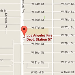 Map of Fire Station 57