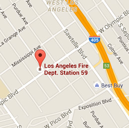 Map of Fire Station 59