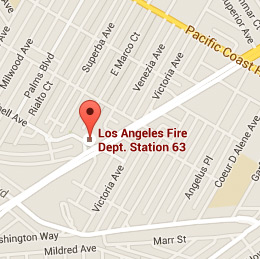 Map of Fire Station 63