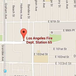 Map of Fire Station 65