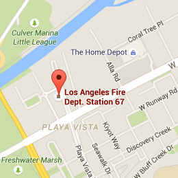 Map of Fire Station 67