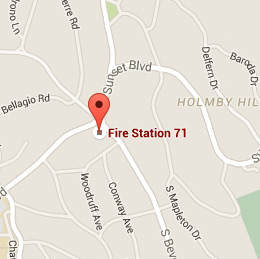Map of Fire Station 71