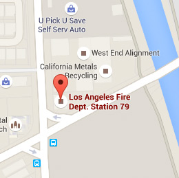 Map of Fire Station 79