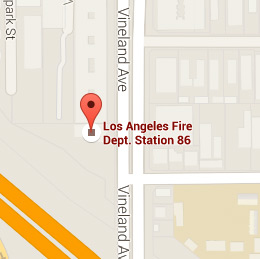 Map of Fire Station 86