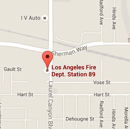 Map of Fire Station 89