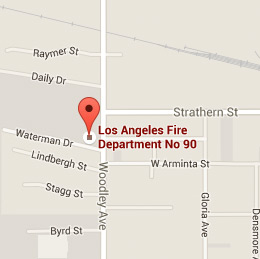 Map of Fire Station 90