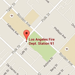 Map of Fire Station 91
