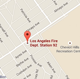 Map of Fire Station 92