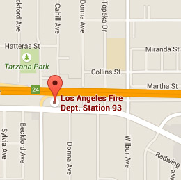Map of Fire Station 93