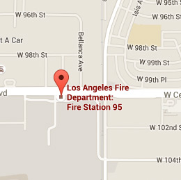 Map of Fire Station 95