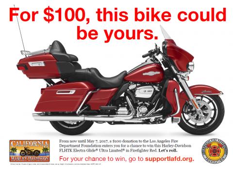 Red Harley Davidson Motorcycle