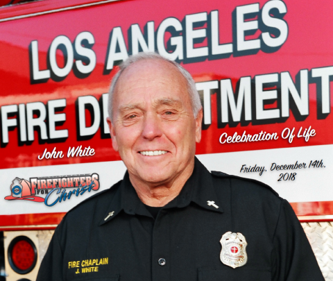 Fire Chaplain and Retired LAFD Captain II John A. White