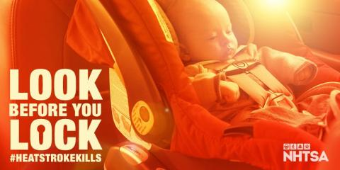 """Safety experts, including the LAFD and NHTSA say """"Look Before You Lock"""""""