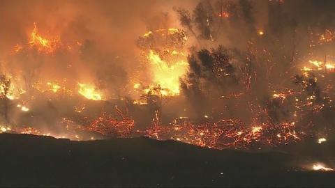 Oro Vista Fire