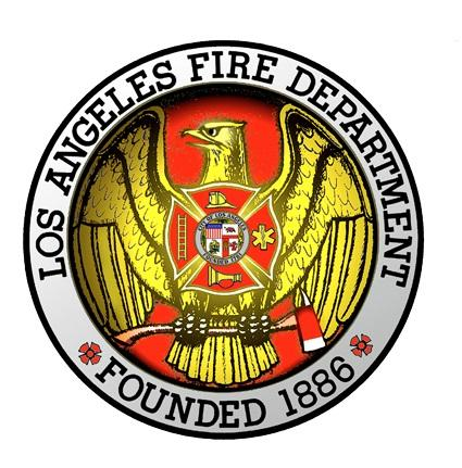 Offical seal Of Los Angeles City Fire Department