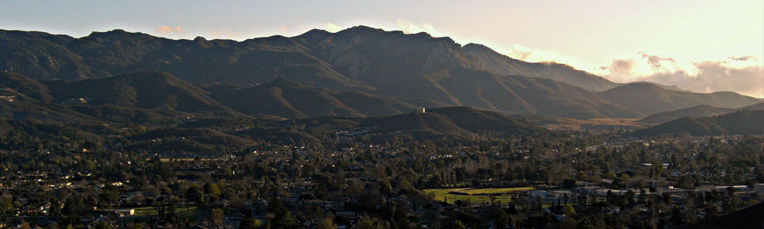 The San Fernando Valley of Los Angeles